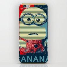 Minion banana iPhone & iPod Skin
