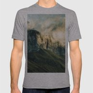Wander III Mens Fitted Tee Athletic Grey SMALL