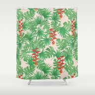 Tropical Canopy Shower Curtain