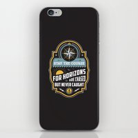 Stay The Course iPhone & iPod Skin