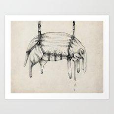 Hanging Thing Art Print
