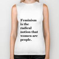 Feminism  Biker Tank