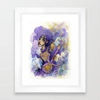 Prince Framed Art Print