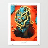POP HELL # 10 Canvas Print