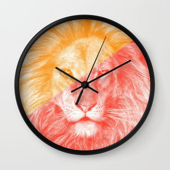 Wild 3 - by Eric Fan and Garima Dhawan Wall Clock