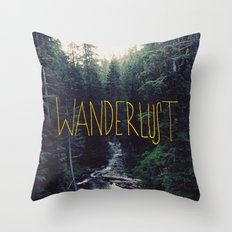 Wanderlust: Rainier Cree… Throw Pillow