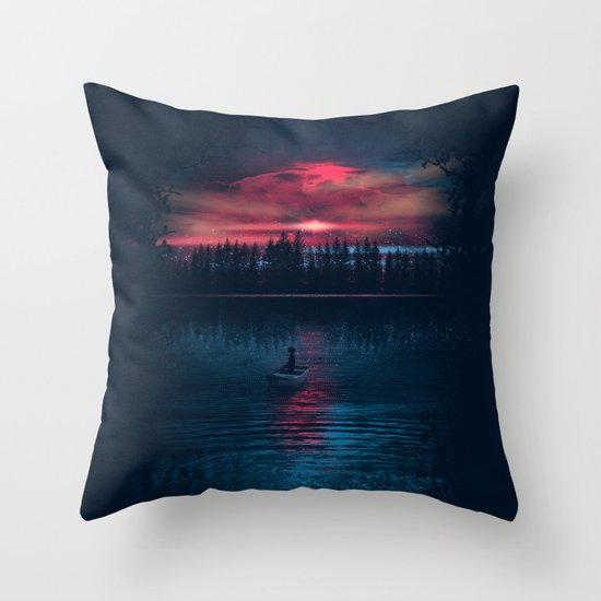 The World Beneath Throw Pillow