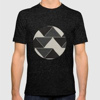 Felix Mens Fitted Tee Tri-Black SMALL