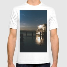 film burlington reflection SMALL Mens Fitted Tee White