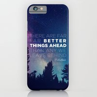 "iPhone & iPod Case featuring CS Lewis ""Better Things Ahead"" by Pocket Fuel"