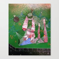 mix and match Canvas Print