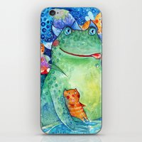 The meal of the Toad iPhone & iPod Skin