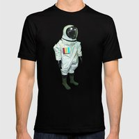 Mr CMYK Mens Fitted Tee Black SMALL