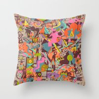 Schema 14 Throw Pillow