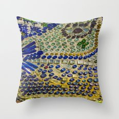 Bottle chapel  Throw Pillow