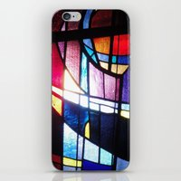 Stained Beauty iPhone & iPod Skin