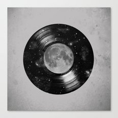 Galaxy Tunes Canvas Print
