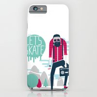iPhone & iPod Case featuring Let's skate  by SpazioC