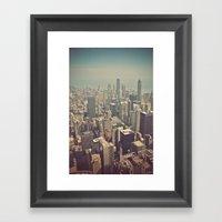 Windy City Framed Art Print