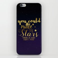 You could rattle the stars iPhone & iPod Skin
