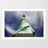 Statue of Liberty 4. Art Print