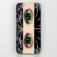 Reverse Masquerade iPhone & iPod Skin