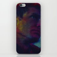 Deckard: Blade Runner Screenplay Print iPhone & iPod Skin