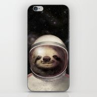 Space Sloth  iPhone & iPod Skin