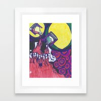 Passing Time Framed Art Print