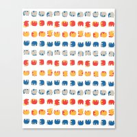 UNDERSTANDING ELEPHANTS Canvas Print
