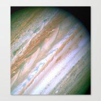 Jupiter by Society6 Planet Prints Canvas Print