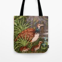 Mom And Babys (The Land … Tote Bag