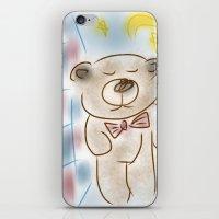 Bedtime Bear iPhone & iPod Skin