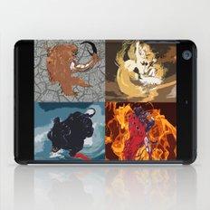 The Elemental Fiends iPad Case