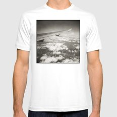 { flying high } Mens Fitted Tee SMALL White