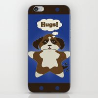 Star Dog iPhone & iPod Skin