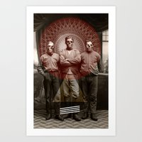 The Good, The Bad and The Dead Man Art Print
