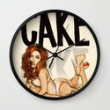 CAKE  Wall Clock