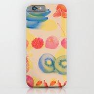 Under The Fruit Veil iPhone 6 Slim Case