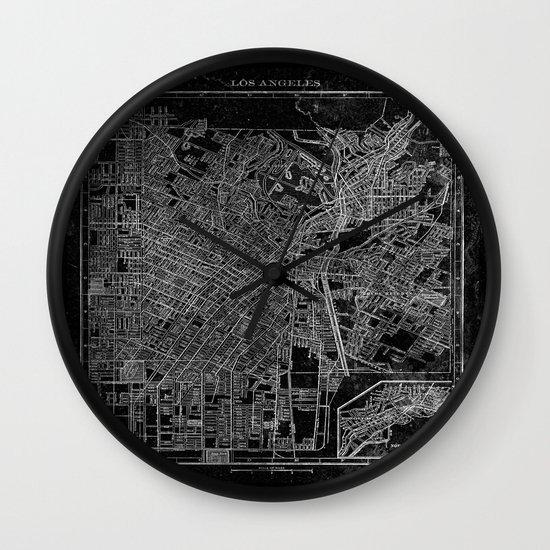 Los Angeles, California, Circa 1908. Wall Clock