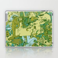 Green Town Laptop & iPad Skin
