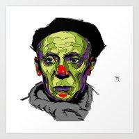 P. Picasso Art Print