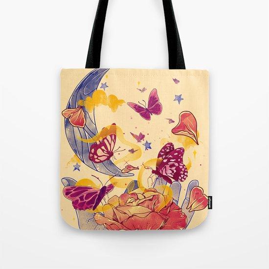 Papillon Ache Tote Bag