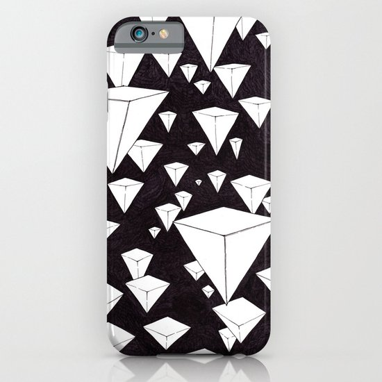 snowing pyramids II iPhone & iPod Case