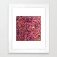 Fuzzy Pillow Framed Art Print