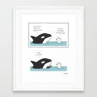 Loofa Framed Art Print