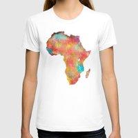 africa T-shirts featuring Africa by jbjart