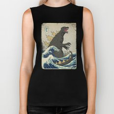 The Great Godzilla Off K… Biker Tank
