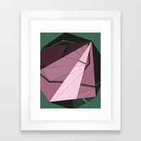 Shape Abstract Framed Art Print