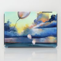 Balloons Over Water iPad Case